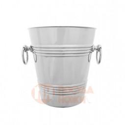 Ведро для охлаждения шампанского никелированное Кольчугино \ С7108