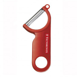 Нож для чистки картофеля 13.4 см красный Victorinox \ 7.6073