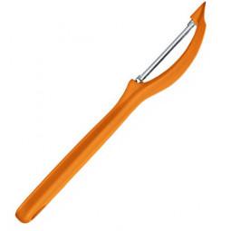 Нож для чистки томатов и других овощей 17.5 см  оранжевый Victorinox \ 7.6075.9