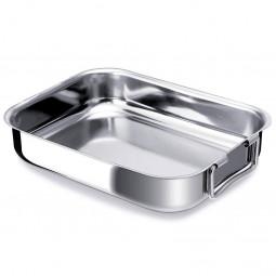Блюдо для запекания из нержавеющей стали со складными ручками 35x26 см Ovenware BEKA \ 20043435