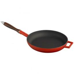 Чугунная сковорода LAVA RED 28см \ LVYTV28K0R