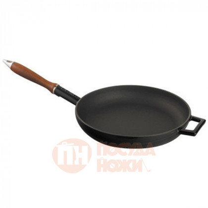 Чугунная сковорода LAVA BLACK 24см \ LVYTV24K0BL