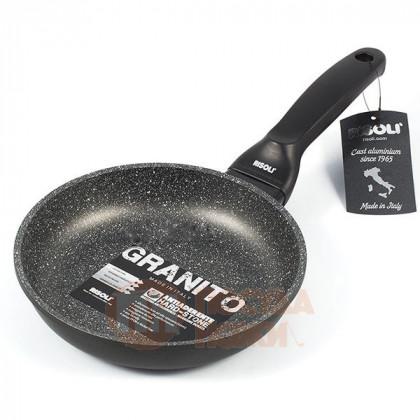 Сковорода с керамическим покрытием Risoli HardStone Granit 20см \ 00103GR/20HS