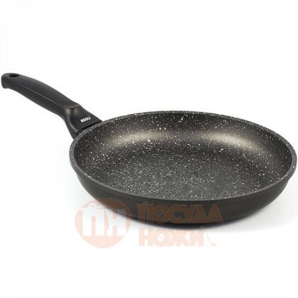 Сковорода с керамическим покрытием Risoli HardStone Granit 28см \ 00103GR/28HS