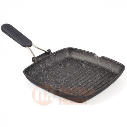 Сковорода-гриль Risoli HardStone Granit 26x26см \ 0092GR/26HS0