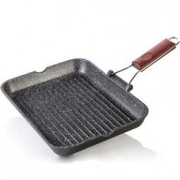 Сковорода-гриль Risoli HardStone Granit 36x26см \ 0092GR/36HS0
