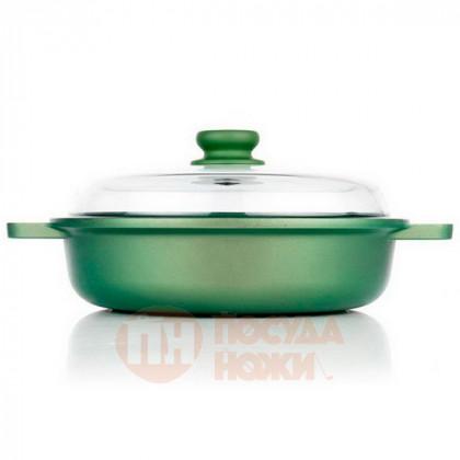 Сотейник со стеклянной крышкой Risoli Dr Green 24см \ 00099DR/24GS