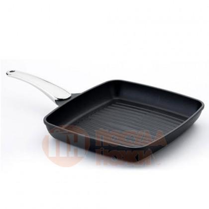 Сковорода-гриль Risoli Fusion Steel 30х27см \ 00094FA/30TP