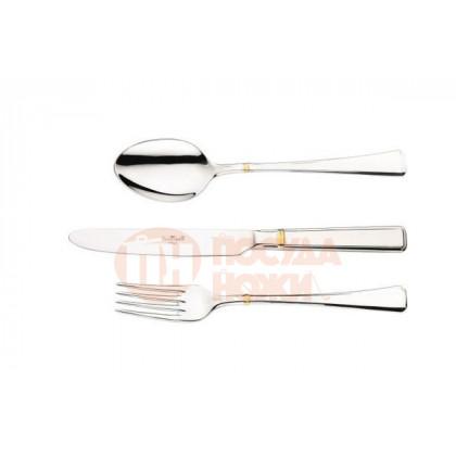Набор столовых приборов на 12 персон 75пр Pinti 1929 Leonardo Gold в подарочной упаковке \ 0509S095