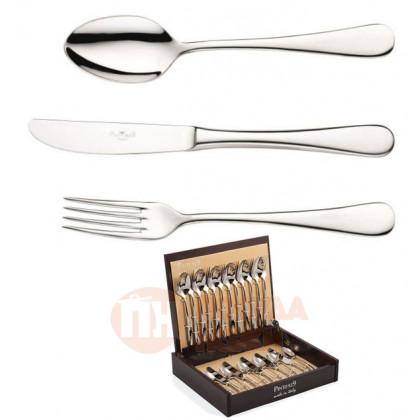 Набор столовых приборов на 6 персон 24 пр. Pinti 1929 Pitagora в подарочной упаковке \ 0810S091
