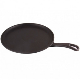Литая чугунная сковорода для блинов LAVA ECO 20см \ LVECOYKRP20