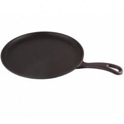 Литая чугунная сковорода для блинов LAVA ECO 26см \ LVECOYKRP26