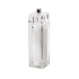 Мельница для соли 15 см Bisetti акрил прозрачная \ 826S