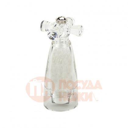 Мельница для соли 14.5 см Bisetti акрил прозрачная \ 930S