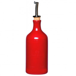 Бутылка для масла и уксуса 7,5 см 0,45л гранат Emile Henry \ 340215