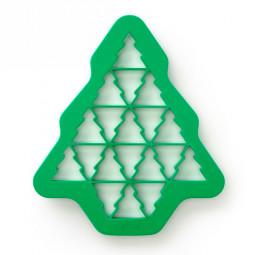 "Форма для печенья ""Елочки"" зеленый Lekue \ 0200180V13M017"
