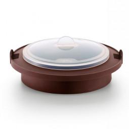 Пароварка для булочек силиконовая коричневый Lekue \ 3400704M10M017