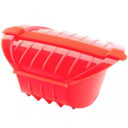 Конверт для запекания глубокий силиконовый 1л красный Lekue \ 3407600R10U004