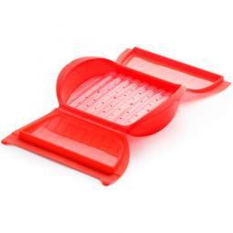 Конверт для запекания силиконовый 3-4 порции с вставкой красный Lekue \ 3402600R10U004