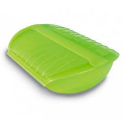 Конверт для запекания силиконовый 3-4 порции с вставкой салатовый Lekue \ 3402600V09U004