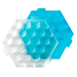 "Форма для льда ""Кубики "" голубой Lekue \ 0250500Z10C004"