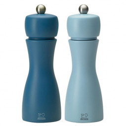 Набор мельниц  для соли и перца 15 см голубой+синийTahiti set Peugeot \ 2/33279