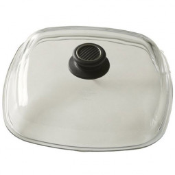 Крышка квадратная, 26 см, стекло,, серия Accessories, Gastrolux \ L328-0