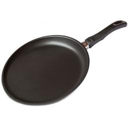 Блинная сковорода для индукционных плит, съемная ручка, 28 см,  Cookware Induction, Gastrolux \ A17-628