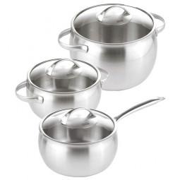 Набор посуды из нержавеющей стали 3 пр. Daily Kuhn Rikon \ 37249