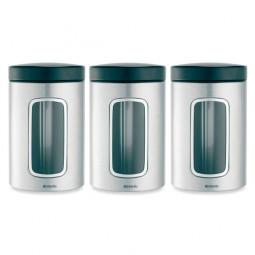 Набор контейнеров с окном 3пр.1,4л. BRABANTIA  \ 335341