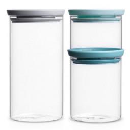 Набор модульных стеклянных банок 3шт. BRABANTIA  \ 298325