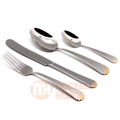 Набор столовых приборов SIRIUS GOLD TIP на 6 персон 24 пр. HERDMAR   \ 183302401172000022