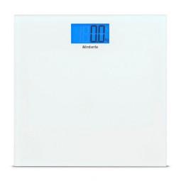 Весы напольные электронные 30 см стекло белый Brabantia \ 483127