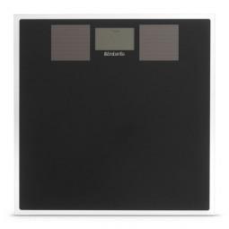 Весы напольные электронные на солнечных батареях 30 см стекло Brabantia \ 483103