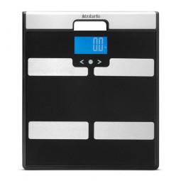 Весы диагностические электронные 35 см стекло/металл Brabantia \ 481949