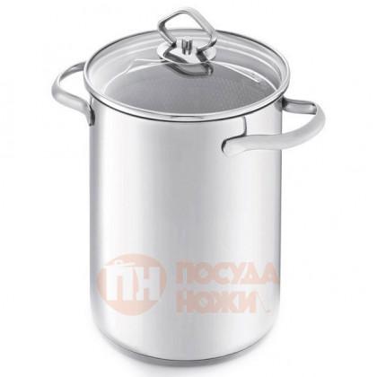 Кастрюля из нержавеющей стали для варки спаржи с ситом 4.1 л 16 см Kitchen Aids BEKA \ 16302994