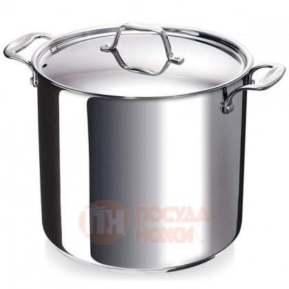 Большая кастрюля из нержавеющей стали 17.2 л 28 см Chef BEKA \ 12063284