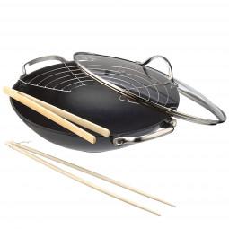 Сковорода-вок чугунная Lhasa 30 см Frying Time BEKA \ 14300734