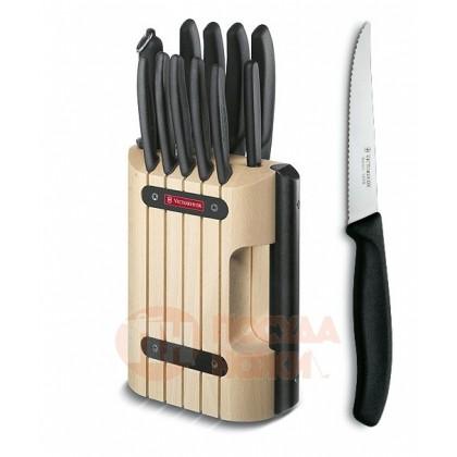 Набор кухонных ножей с подставкой 11 пр. Victorinox \ 6.7153.11