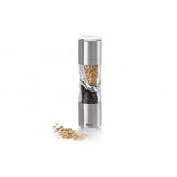 Мельница 2 в 1 для соли/перца и специй AdHoc DUOSPICE  \ 010.070800.042