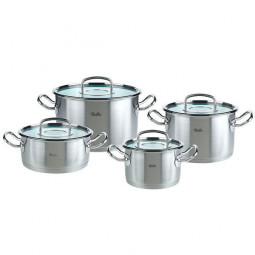 Набор кастрюль Fissler Original pro collection 4пр. (крышка/стекло)  \ 8412604