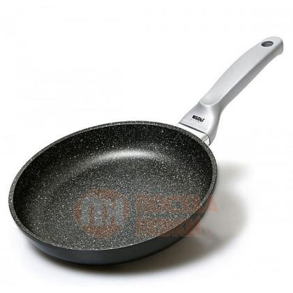 Сковорода с керамическим покрытием Risoli Granit Induction 20см \ 01103GRIN/20