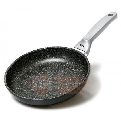 Сковорода с керамическим покрытием глубокая Risoli Granit Induction 24см \ 01104GRIN/24