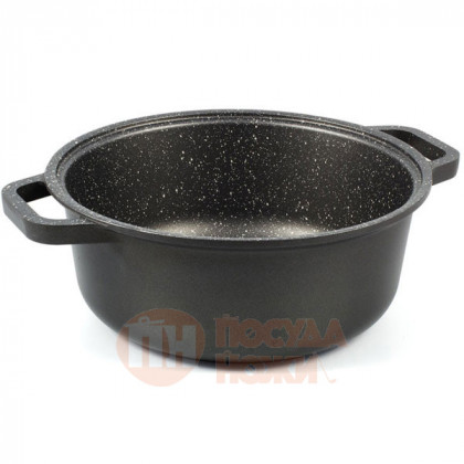 Кастрюля Risoli HardStone Granit 24см \ 0096GR/24HS0