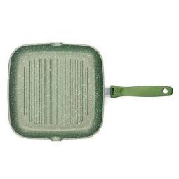 Сковорода с керамическим покрытием-гриль Risoli Dr Green Induction 26см \ 094BDRIN/26