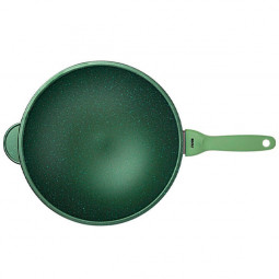 Сковорода Вок Risoli Dr Green 30см \ 0080DR/30GS