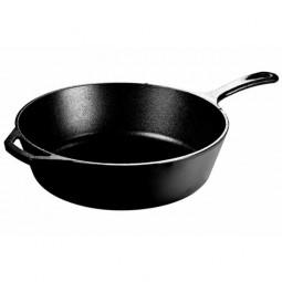 Сковорода чугунная круглая глубокая 30 см с двумя ручками, черная  LODGE \ L10DSK3