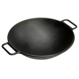 ВОК чугунный 36 см, черный LODGE \ P14W3