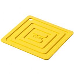 Подставка квадратная 15 см. желтая. LODGE \ AS6S21