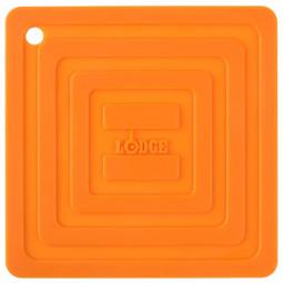 Подставка квадратная 15 см. оранжевая. LODGE \ AS6S61